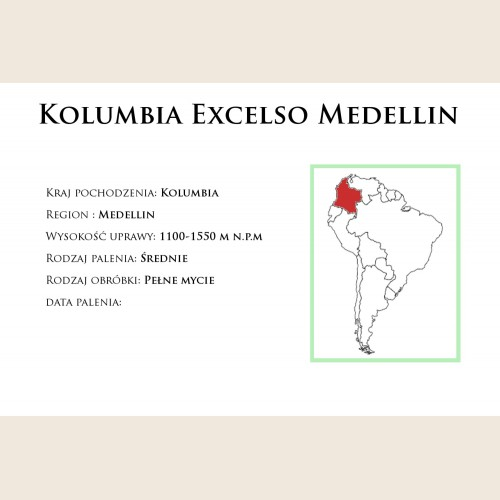 Kolumbia Excelso Medellin
