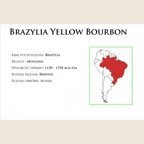 Brazylia Yellow Bourbon
