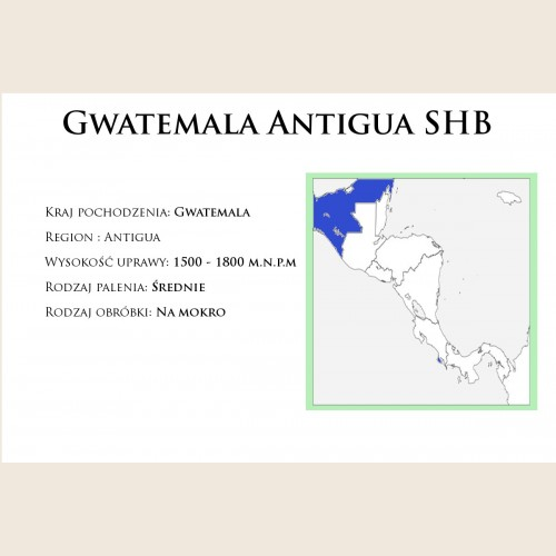 Gwatemala Antigua SHB